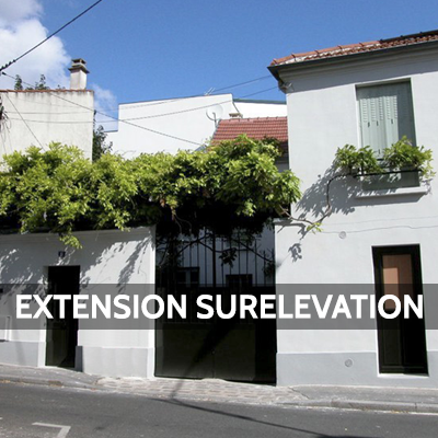 extension surelevation