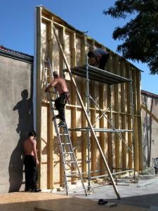 Construction de l'atelier