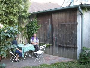 le garage. avant