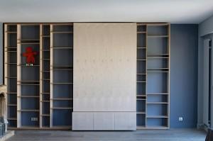 Bibliothèque en bouleau Alba